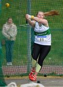 07 April 2019; Ciara Sheehy of Emerald A.C., Co. Limerick, competing in the Women's Hammer during the AAI National Spring Throws at AIT in Athlone, Co Westmeath.  Photo by Harry Murphy/Sportsfile