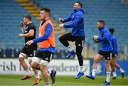 12 April 2019; Dave Kearney during the Leinster Rugby captain's run at the RDS Arena in Dublin. Photo by Ramsey Cardy/Sportsfile