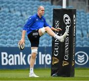 12 April 2019; Devin Toner during the Leinster Rugby captain's run at the RDS Arena in Dublin. Photo by Ramsey Cardy/Sportsfile