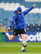 12 April 2019; Ross Byrne during the Leinster Rugby captain's run at the RDS Arena in Dublin. Photo by Ramsey Cardy/Sportsfile