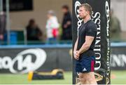 12 April 2019; Munster forwards coach Jerry Flannery during the warm-up of the Guinness PRO14 Round 20 game between Benetton Treviso and Munster Rugby at Stadio di Monigo in Treviso, Italy. Photo by Roberto Bregani/Sportsfile