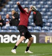 12 April 2019; Jacob Stockdale of Ulster before the Guinness PRO14 Round 20 match between Edinburgh and Ulster at BT Murrayfield in Edinburgh, Scotland. Photo by Ross Parker/Sportsfile