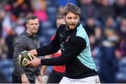 12 April 2019; Iain Henderson of Ulster prior to the Guinness PRO14 Round 20 match between Edinburgh and Ulster at BT Murrayfield in Edinburgh, Scotland. Photo by Ross Parker/Sportsfile.