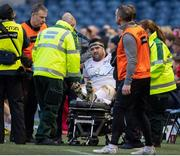 12 April 2019; Marty Moore of Ulster is forced off with an injury during the Guinness PRO14 Round 20 match between Edinburgh and Ulster at BT Murrayfield in Edinburgh, Scotland. Photo by Ross Parker/Sportsfile