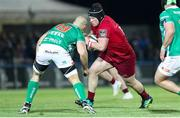 12 April 2019; Ciaran Parker of Munster takes on Marco Lazzaroni of Benetton Treviso during the Guinness PRO14 Round 20 game between Benetton Treviso and Munster Rugby at Stadio di Monigo in Treviso, Italy. Photo by Roberto