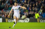 12 April 2019; John Cooney of Ulster scores a conversion during the Guinness PRO14 Round 20 match between Edinburgh and Ulster at BT Murrayfield in Edinburgh, Scotland. Photo by Ross Parker/Sportsfile