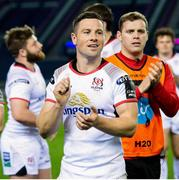 12 April 2019;  John Cooney of Ulster at full time of the Guinness PRO14 Round 20 match between Edinburgh and Ulster at BT Murrayfield in Edinburgh, Scotland. Photo by Ross Parker/Sportsfile