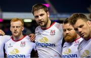 12 April 2019; Iain Henderson of Ulster at full time of the Guinness PRO14 Round 20 match between Edinburgh and Ulster at BT Murrayfield in Edinburgh, Scotland. Photo by Ross Parker/Sportsfile