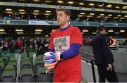 12 April 2019; Shane Supple of Republic of Ireland XI before the Sean Cox Fundraiser match between the Republic of Ireland XI and Liverpool FC Legends at the Aviva Stadium in Dublin. Photo by Stephen McCarthy/Sportsfile
