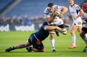 12 April 2019; Marcell Coetzee of Ulster charges forward during the Guinness PRO14 Round 20 match between Edinburgh and Ulster at BT Murrayfield in Edinburgh, Scotland. Photo by Ross Parker/Sportsfile