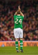 12 April 2019; Jason McAteer of Republic of Ireland XI during the Sean Cox Fundraiser match between the Republic of Ireland XI and Liverpool FC Legends at the Aviva Stadium in Dublin. Photo by Stephen McCarthy/Sportsfile