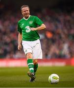 12 April 2019; Ronnie Whelan of Republic of Ireland XI during the Sean Cox Fundraiser match between the Republic of Ireland XI and Liverpool FC Legends at the Aviva Stadium in Dublin. Photo by Stephen McCarthy/Sportsfile