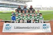 13 April 2019; Kinnitty GAA Club Co Offaly pictured at the Littlewoods Ireland Go Games Provincial Days in Croke Park. This year over 6,000 boys and girls aged between six and twelve represented their clubs in a series of mini blitzes and just like their heroes got to play in Croke Park. Photo by Matt Browne/Sportsfile
