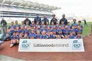 13 April 2019; Ratoath GAA Club Co Meath pictured at the Littlewoods Ireland Go Games Provincial Days in Croke Park. This year over 6,000 boys and girls aged between six and twelve represented their clubs in a series of mini blitzes and just like their heroes got to play in Croke Park. Photo by Matt Browne/Sportsfile