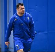 13 April 2019; Cian Healy of Leinster arrives ahead of the Guinness PRO14 Round 20 match between Leinster and Glasgow Warriors at the RDS Arena in Dublin. Photo by Ramsey Cardy/Sportsfile