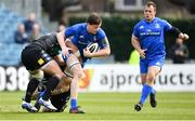 13 April 2019; Jack Dunne of Leinster is tackled by Fraser Brown of Glasgow Warriors during the Guinness PRO14 Round 20 match between Leinster and Glasgow Warriors at the RDS Arena in Dublin. Photo by Ramsey Cardy/Sportsfile