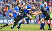 13 April 2019; Devin Toner of Leinster is tackled by Jonny Gray of Glasgow Warriors during the Guinness PRO14 Round 20 match between Leinster and Glasgow Warriors at the RDS Arena in Dublin. Photo by Ramsey Cardy/Sportsfile