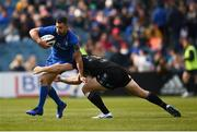 13 April 2019; Rob Kearney of Leinster in action against Kyle Steyn of Glasgow Warriors during the Guinness PRO14 Round 20 match between Leinster and Glasgow Warriors at the RDS Arena in Dublin. Photo by Stephen McCarthy/Sportsfile