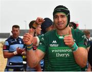 13 April 2019; Ultan Dillane of Connacht following the Guinness PRO14 Round 20 match between Connacht and Cardiff Blues at The Sportsground in Galway. Photo by Seb Daly/Sportsfile
