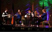 13 April 2019; Leinster team Shóna Ní Chnaimhín, Aaron MacKessy, Ciara MacKessy, Siobhan Ní Bhuachalla and Joe Keane from Kyle, Laois, competing in the Ceol Uirlise catagory during the Scór Sinsir All Ireland Finals at the TF Royal hotel and theatre, Old Westport road in Castlebar, Co Mayo. Photo by Eóin Noonan/Sportsfile