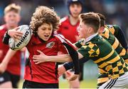 13 April 2019; Action from the Bank of Ireland Half-Time Minis between St. Bridget's Rugby Club Foxrock and West Offaly Lions at the Guinness PRO14 Round 20 match between Leinster and Glasgow Warriors at the RDS Arena in Dublin. Photo by Ben McShane/Sportsfile
