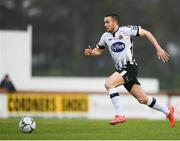 12 April 2019; Michael Duffy of Dundalk during the SSE Airtricity League Premier Division match between Sligo Rovers and Dundalk at The Showgrounds in Sligo. Photo by Eóin Noonan/Sportsfile