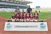 13 April 2019; St Dominic's GAA Club Co Longford pictured at the Littlewoods Ireland Go Games Provincial Days in Croke Park. This year over 6,000 boys and girls aged between six and twelve represented their clubs in a series of mini blitzes and just like their heroes got to play in Croke Park. Photo by Matt Browne/Sportsfile