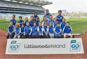 13 April 2019; Barnderrig GAA Club Co Wicklow pictured at the Littlewoods Ireland Go Games Provincial Days in Croke Park. This year over 6,000 boys and girls aged between six and twelve represented their clubs in a series of mini blitzes and just like their heroes got to play in Croke Park. Photo by Matt Browne/Sportsfile