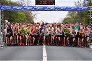 14 April 2019; A general view of the start of the Great Ireland Run 2019 in conjunction with AAI National 10k Championships at Phoenix Park in Dublin. Photo by Sam Barnes/Sportsfile