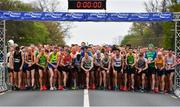 14 April 2019; A general view of the start during the Great Ireland Run 2019 in conjunction with AAI National 10k Championships at Phoenix Park in Dublin. Photo by Sam Barnes/Sportsfile