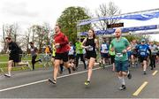 14 April 2019; Runners competing in the Great Ireland Run 2019 in conjunction with AAI National 10k Championships at Phoenix Park in Dublin. Photo by Sam Barnes/Sportsfile