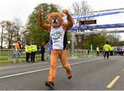 14 April 2019; Aodhagan Fitzsimons of Marathon Club Ireland during the Great Ireland Run 2019 in conjunction with AAI National 10k Championships at Phoenix Park in Dublin. Photo by Sam Barnes/Sportsfile