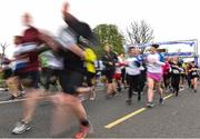 14 April 2019; Runners during the Great Ireland Run 2019 in conjunction with AAI National 10k Championships at Phoenix Park in Dublin. Photo by Sam Barnes/Sportsfile