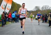 14 April 2019; Feidhlim McGowan of North Sligo A.C., Co. Sligo, competing in the Great Ireland Run 2019 in conjunction with AAI National 10k Championships at Phoenix Park in Dublin. Photo by Sam Barnes/Sportsfile