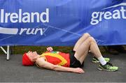 14 April 2019; Brendan Ryan of Tallaght A.C., Co. Dublin, after competing in the Great Ireland Run 2019 in conjunction with AAI National 10k Championships at Phoenix Park in Dublin. Photo by Sam Barnes/Sportsfile