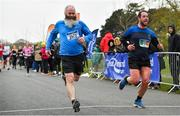 14 April 2019; Waldemar Kearneym left, and Tony Quinlan of Waterford A.C., Co. Waterford, competing in the Great Ireland Run 2019 in conjunction with AAI National 10k Championships at Phoenix Park in Dublin. Photo by Sam Barnes/Sportsfile
