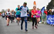 14 April 2019; Praveen Chandran competing in the Great Ireland Run 2019 in conjunction with AAI National 10k Championships at Phoenix Park in Dublin. Photo by Sam Barnes/Sportsfile