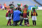 14 April 2019; Players from Kiltale, Co Meath, during the Littlewoods Ireland Go Games Provincial Days in Croke Park. This year over 6,000 boys and girls aged between six and twelve represented their clubs in a series of mini blitzes and just like their heroes got to play in Croke Park. Photo by Piaras Ó Mídheach/Sportsfile