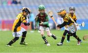 14 April 2019; Action from Kiltale, Co Meath, against Piltown, Co Kilkenny, during the Littlewoods Ireland Go Games Provincial Days in Croke Park. This year over 6,000 boys and girls aged between six and twelve represented their clubs in a series of mini blitzes and just like their heroes got to play in Croke Park. Photo by Piaras Ó Mídheach/Sportsfile