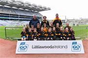 14 April 2019; The Nobber, Co Meath, team at the Littlewoods Ireland Go Games Provincial Days in Croke Park. This year over 6,000 boys and girls aged between six and twelve represented their clubs in a series of mini blitzes and just like their heroes got to play in Croke Park. Photo by Piaras Ó Mídheach/Sportsfile