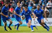 13 April 2019; Jordan Larmour of Leinster during the Guinness PRO14 Round 20 match between Leinster and Glasgow Warriors at the RDS Arena in Dublin. Photo by Ramsey Cardy/Sportsfile