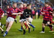 13 April 2019; Action from the Bank of Ireland Half-Time Minis featuring Longford RFC and Athboy RFC at the Guinness PRO14 Round 20 match between Leinster and Glasgow Warriors at the RDS Arena in Dublin. Photo by Stephen McCarthy/Sportsfile