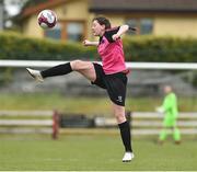 14 April 2019; Lauren Fox of Metopplitan GL during the FAI Women's U19 Interleague Cup Final match between Metropolitan GL and Wexford WSSL at Bridgewater Park, Co. Wicklow. Photo by Matt Browne/Sportsfile