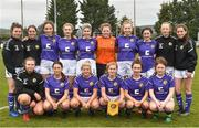 14 April 2019; The Wexford WSSL squad before the FAI Women's U19 Interleague Cup Final match between Metropolitan GL and Wexford WSSL at Bridgewater Park, Co. Wicklow. Photo by Matt Browne/Sportsfile