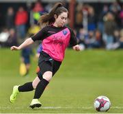 14 April 2019; Erika Browne of Metopplitan GL during the FAI Women's U19 Interleague Cup Final match between Metropolitan GL and Wexford WSSL at Bridgewater Park, Co. Wicklow. Photo by Matt Browne/Sportsfile