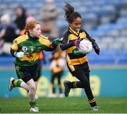 15 April 2019; Action during the LGFA U10 Go Games Activity Day at Croke Park in Dublin. Photo by Harry Murphy/Sportsfile
