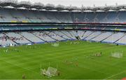 15 April 2019; A general view during the LGFA U10 Go Games Activity Day at Croke Park in Dublin. Photo by Sam Barnes/Sportsfile