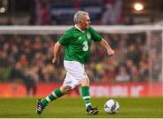 12 April 2019; Ray Houghton of Republic of Ireland XI during the Sean Cox Fundraiser match between the Republic of Ireland XI and Liverpool FC Legends at the Aviva Stadium in Dublin. Photo by Sam Barnes/Sportsfile