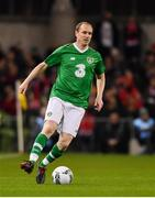 12 April 2019; Colin Healy of Republic of Ireland XI during the Sean Cox Fundraiser match between the Republic of Ireland XI and Liverpool FC Legends at the Aviva Stadium in Dublin. Photo by Sam Barnes/Sportsfile