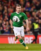 12 April 2019; Stephen Elliott of Republic of Ireland XI during the Sean Cox Fundraiser match between the Republic of Ireland XI and Liverpool FC Legends at the Aviva Stadium in Dublin. Photo by Sam Barnes/Sportsfile